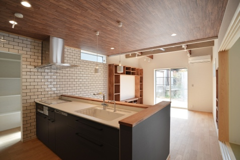 【西尾市の注文住宅】Cocowa home WORKS:5~洗練された黒い家~こだわりの空間