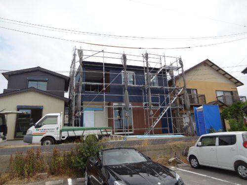 新築物語:「敷地内に3棟が暮らす家を施工します vol.3」