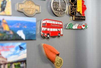 磁石がつく壁を設けるとこんなに便利!