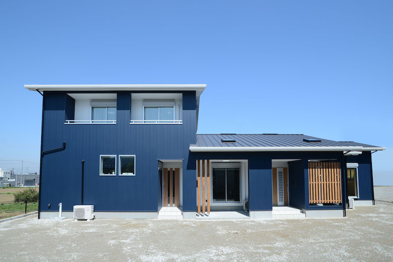 二世帯住宅施工事例、それぞれのカタチ