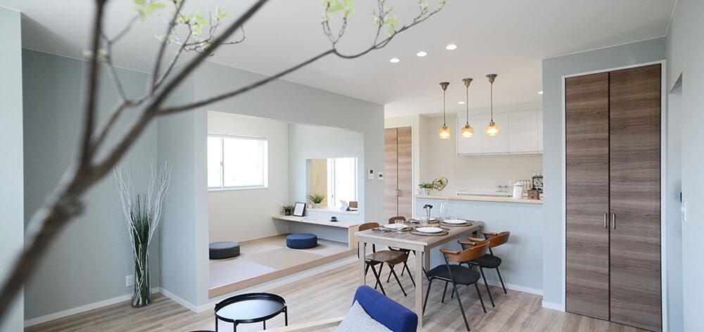 デザインで一体感を楽しむ2世帯住宅